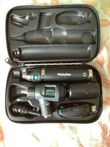 Welch Allyn 97200 ms Diagnostic Set Otoscope Ophthalmoscope Lithium ion Ha