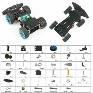 Diy 4wd Rc Car Chassis With S3003metal Servo Bearing For Arduino Robot Car Truck