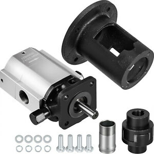 Log Splitter Pump Kit 16 Gpm Hydraulic Pump 2 stage Jaw Coupler Pump Bracket