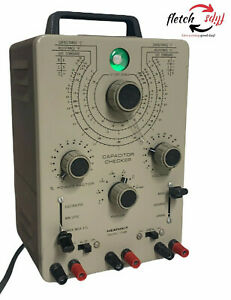 Heathkit It 28 Capacitor Checker tester Lcr Bridge Untested Does Power Up