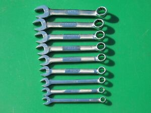 Snap On Oexs709 9 Pc Sae Short Wrench Set 5 16 3 4 Oex100 Oex240 Oexs 709