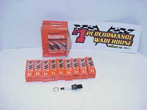 10 New Autolite 5 8 Nascar Racing Spark Plugs 3933 Dr1