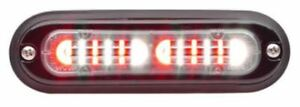 Whelen Tli2d Ion T series Duo Linear Surface Mount Light red white