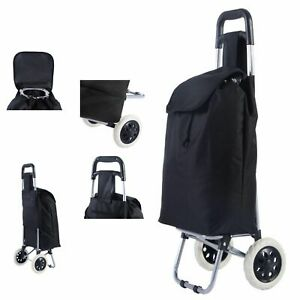 Shopping Trolley Cart Large Capacity Light Weight Wheel Folding Travel Suitcase