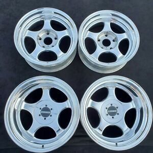 Forgeline Competition Type Rs Porsche 2 piece Forged Wheels Rims 5x130 911 Turbo