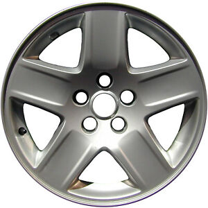 Chrome Plated 5 Spoke 17x7 Factory Wheel 2006 2009 Dodge Charger