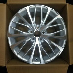 New 18 x8 Alloy Wheel Rim For 2018 2020 Toyota Camry Oem Quality Silver 75221a