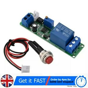 Dc 12v Adjustable Timer Delay Turn Off Module Timing Relay Time Switch