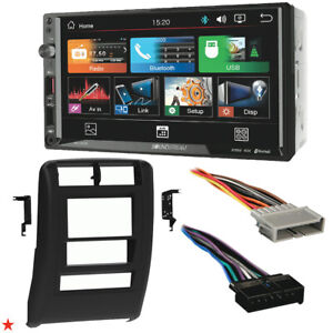 1997 2001 Jeep Cherokee Double Din Car Stereo Installation Dash Kit Bezel Vm 7