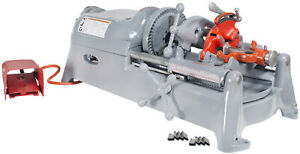 Reconditioned Ridgid 535 V1 Pipe Threader With Extra Dies And Ridgid Die Head