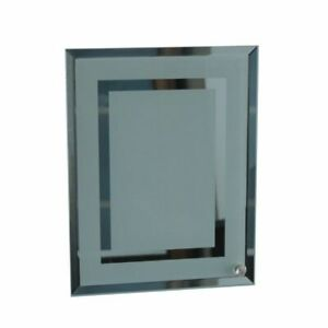 25pcs 8 Sublimation Blank Glass Photo Frame Double Mirror Border
