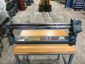 Roper Whitney Pexto 36 X 22 Ga Sheet Metal Bending Roll M n 381d