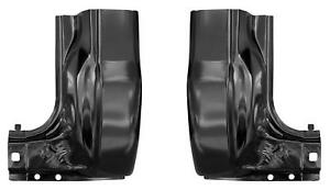 Cab Corner With Extension Fits 99 16 Ford Super Duty Regular Crew Cab Pair