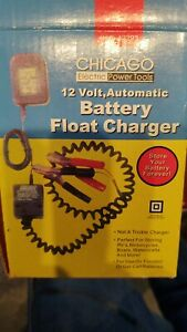 Vintage Chicago 12 Volt Battery Float Charger