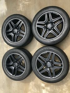 2013 2018 G63 G65 Genuine Amg Factory Wheel Tire Set 20 Rims Mercedes Rims Oem