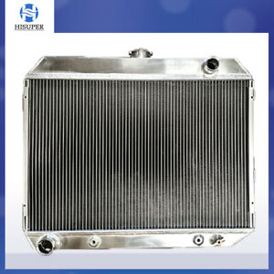3 Row Aluminum Radiator For 1968 1973 Dodge Mopar Challenger 26 core Big Block