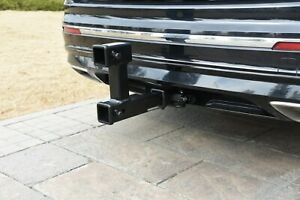Toptow Trailer 2 Inch Dual Hitch Receiver Adapter Extender For Towing And Riser