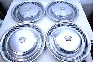 Set Of 4 1973 1978 Cadillac Fleetwood Eldorado Deville Hubcap Wheel Cover Covers