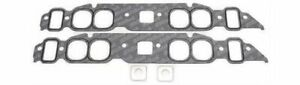 Edelbrock 7203 Oval Port Intake Manifold Gaskets Big Block Chevy 396 427 454 Set