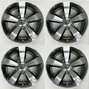 Set Of 4 New 20 Wheels For Jeep Grand Cherokee 2014 2016 Oem Quality Rim 9137