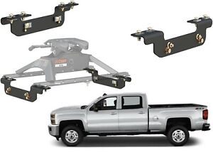 Curt 16411 5th Wheel Installation Brackets For 2011 2018 Silverado
