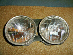 Vintage Gm Guide Nos Lh T 3 Sealed Beam Headlamp Assembly Bulbs Tested