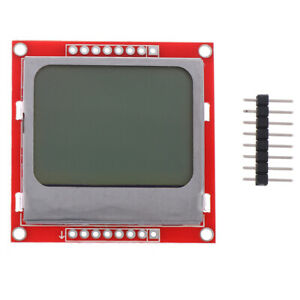 1pc New 5110 Lcd Module Red Backlight Adapter Pcb For Nokia 5110 Lck_gu