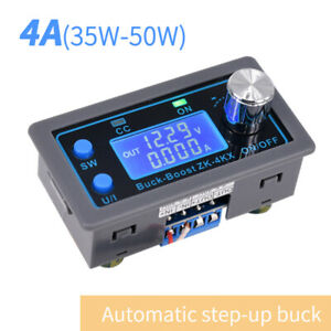 Dc dc Step down up Buck Boost Power Supply Module Lcd Digital Display Adjustable