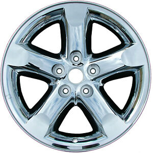 Cladded Chrome 5 Spoke 20x9 New Wheel For 2006 2008 Dodge Ram1500