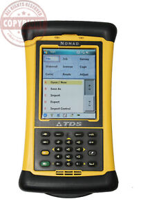 Nomad Survey Pro Surveying Data Collector total Station trimble topcon tds Gps