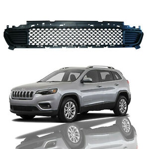 For 2019 2020 Jeep Cherokee Front Lower Grill Grille Black Replaces 68288039ab