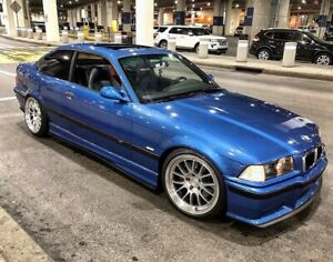 Bmw E36 M3 2 4 Door Side Skirt Rear Bumper Extension Splitters