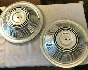 16 5 16 Chrome Rv Motorhome Dual Wheel Simulators Hub Covers Hubcaps Van Truck