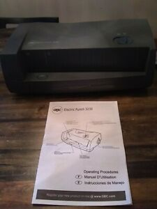 New Gbc 24 sheet 3230 Electric Two to three hole Adjustable Punch 9 32 Holes