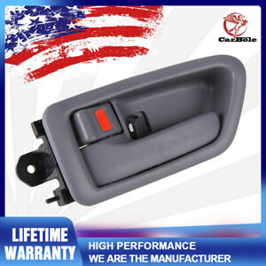 Left Inside Door Handle Trim Gray Driver Side For Toyota Camry Avalon 1997 2001