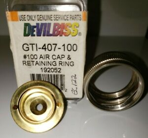 Devilbiss Gti 407 110 Air Cap W ring