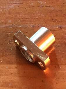 T8 Nut H Flange Copper Nut For 8mm Thread 2mm Pitch 4mm Lead 3018 Cnc