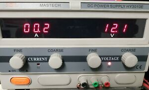 Mastech Hy3010e Dc 0 30 Volt 10 Amp Bench Power Supply
