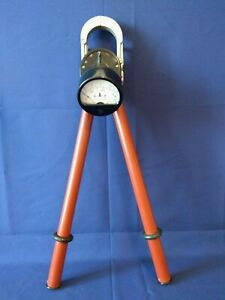 Vintage Electrical Power Current Measuring Clamp Meter Up To 10 000 Volts Ussr