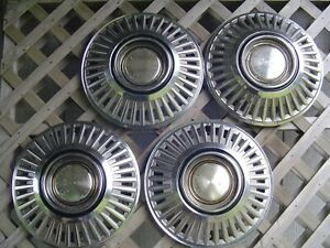 Vintage 1968 Dodge Chrysler Plymouth Charger Coronet Hubcaps Wheel Covers Mopar