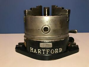 Hartford 8 Super Spacer Indexing Head 3 jaw Chuck 2 pc Rev Jaws 24 pos