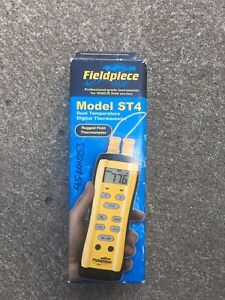 Fieldpiece St4 Dual Temperature Digital Thermometer Hvac r