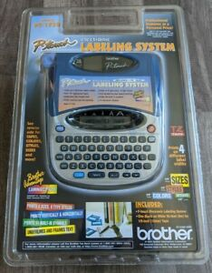 New Brother P touch Pt 1750 Electronic Labeling System Label Maker 1 4 To 3 4 Tz