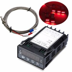 1 32din Digital F c Pid Temperature Controller With K Thermocouple Ssr