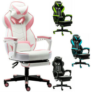 Racing Gaming Chair High Back Executive Ergonomic Adjustable Swivel Task Chair
