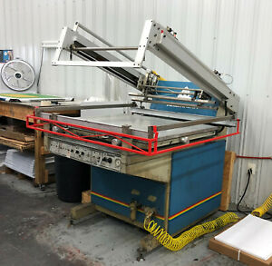 30 X 40 Large Screen Printing Press