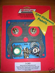 Holley 4500 Carburetor Rebuild Kit Dominator 130 Needle 1050 1150 1250 750 3 203