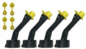 Super Spouts Gas Can Spout Replacement For Blitz Old Style Nozzles With Caps