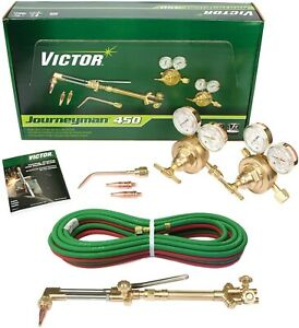 Victor 450 Kit 0384 0807 Cutting Outfit ca2460 315fc acetylene