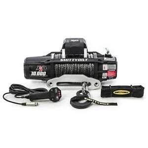 Smittybilt 98510 In Stock X2o 10 Comp Gen2 Waterproof Winch With Synthetic Line